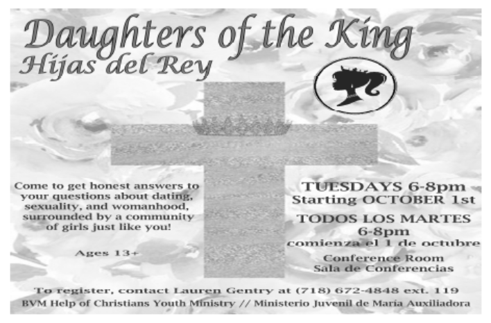 flyer daughters of king